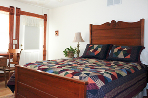 Balcony Room at Scandinavian Inn | Lanesboro MN