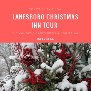 Christmas tour celebrate women decorated decoration holiday cookie bed breakfast festival